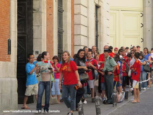 La eurocopa 2012 en la real casa de correos puerta del for La real casa de correos