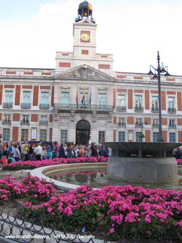 Madrid centro puerta del sol comunidad de madrid spain for Comunidad del sol