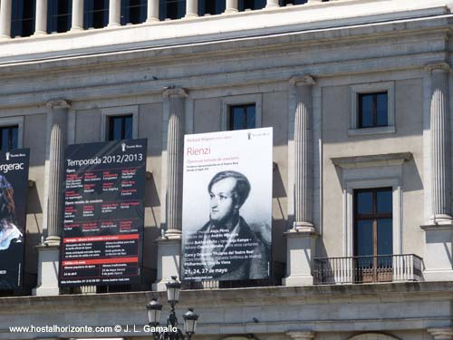 Wagner Rienzi Teatro Real Madrid Plaza de Oriente Spain