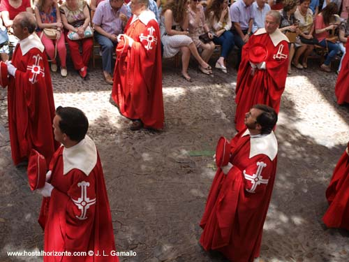 Procesion Corpus Christi Toledo 2012 Spain